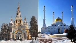 Казахстанцы массово жалуются на церкви и мечети