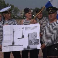 Стелу погибшим в годы войны морякам намерены установить на набережной Аксу