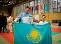 Павлодарский юный борец привез золото с международного турнира Латвии