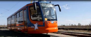 В Павлодаре новые трамваи вышли на маршрут