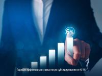 Где получить бизнес-кредит по ставке от 6% годовых?