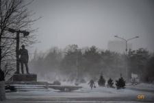 В Павлодаре ожидается снегопад c метелью