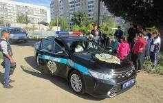 Павлодарские школьники примерили на себя роль полицейских