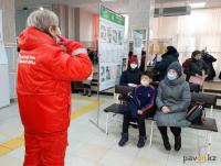 Вопросом утилизации медицинских масок задались волонтеры в Павлодаре