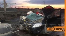 Жуткое ДТП с тремя жертвами произошло на трассе Уральск-Актобе