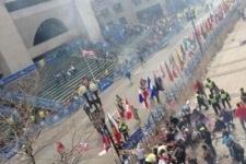 Взрывы на финише Бостонского марафона