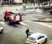 На перекрестке улиц Амангельды-Кутузова снова произошло ДТП с участием спецмашины