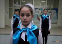 Павлодарские школьники вступили в ряды «Жас Улана»