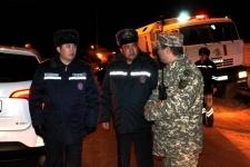 Автобус на трассе Павлодар-Омск попал в кювет