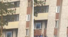 Девочка полчаса стояла на карнизе балкона в Павлодаре. Подробности инцидента