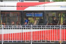 В Павлодаре масочный режим чаще соблюдается в трамваях, нежели в автобусах