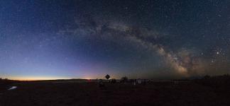 Третий астрослет ЛА северного Казахстана.