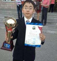 Школьник из Кенжеколя стал лучшим на республиканском творческом конкурсе