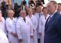 Нурсултан Назарбаев побывал с рабочей поездкой в Павлодарской области