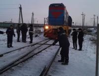 Мужчина погиб под тепловозом в Павлодаре