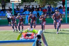 В Павлодаре завершился последний этап чемпионата по пожарно-спасательному спорту