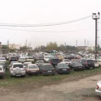 Официальные штрафстоянки в Павлодаре переполнены