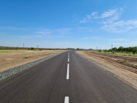 Старую щебеночную дорогу в Успенском районе заасфальтировали