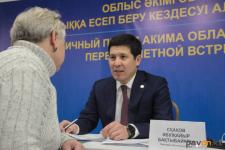 Около 200 граждан записались на прием к акиму Павлодарской области