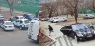 Павлодарская полиция разыскивает неизвестного, устроившего стрельбу во дворе дома
