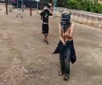 С палками и нецензурной бранью встретили дети одного из павлодарских дворов трудовой отряд