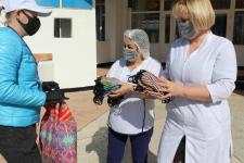 Осужденные одной из павлодарских колоний сшили 200 многоразовых масок для продавцов магазинов и детей из противотуберкулезного санатория