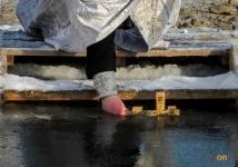 В Павлодаре Крещенские купания продлятся двое суток
