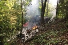 Два самолета столкнулись на авиашоу в Швейцарии