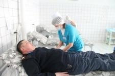 Павлодарские полицейские сдали кровь пострадавшим при пожаре в ТОО «Нефтехим-ЛТД»