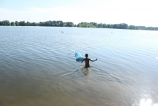 В Павлодаре с запозданием открывается пляжный сезон