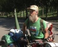 22 тысяч километров преодолел на велосипеде и прибыл в Павлодар известный путешественник