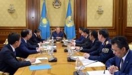 Назарбаев провел совещание по вопросам реформы правоохранительной системы