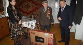 Комитет госдоходов оказал помощь ветеранам ВОВ