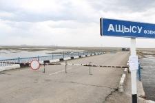 Разрушенный паводком мост через реку Ащысу планируют заменить новым