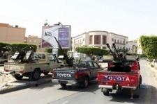 Участники акции протеста попытались взять штурмом МВД Ливии