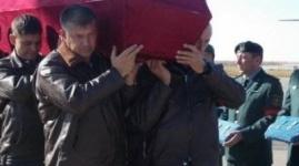В Казахстане простились с летчиками Су-27
