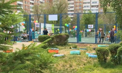 В Павлодаре воспитанникам психоневрологического учреждения подарили футбольное поле