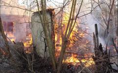 В Павлодаре сгорело четыре дачных домика
