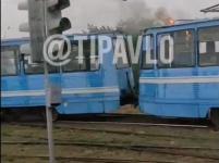 День не задался у двух трамваев в Павлодаре