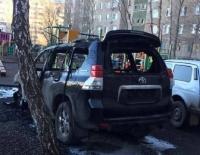 В начале апреля в Павлодарской области сгорели две автомашины марки Toyota