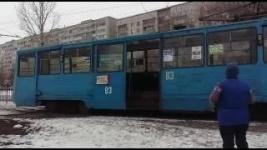 В Павлодаре обрыв контактной сети парализовал движение трамваев на целый час