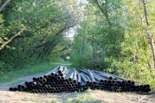 Булат Бакауов недоволен ходом благоустройства Ворушинского парка