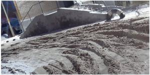 Павлодарские полицейские штрафуют КСК за неубранный снег во дворах
