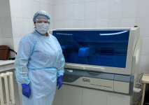 В Павлодаре в тестовом режиме запустили новую лабораторию для сдачи анализа на коронавирус