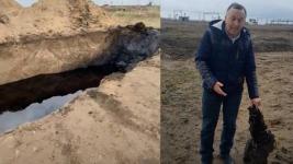 Свалку нефтяных отходов нашли в Павлодаре