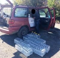 Экибастузские полицейские задержали 150 литров контрафактного спирта