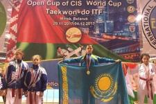 Девочка из Экибастуза завоевала титул чемпиона Кубка мира по таэквондо