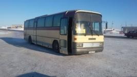 Спасатели эвакуировали пассажиров из сломавшегося на трассе в Павлодарской области автобуса