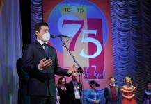 Абылкаир Скаков поздравил павлодарский драматический театр имени Чехова с юбилеем