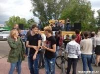 12 рок-групп из Казахстана и России открыли серию фестивалей в Павлодаре